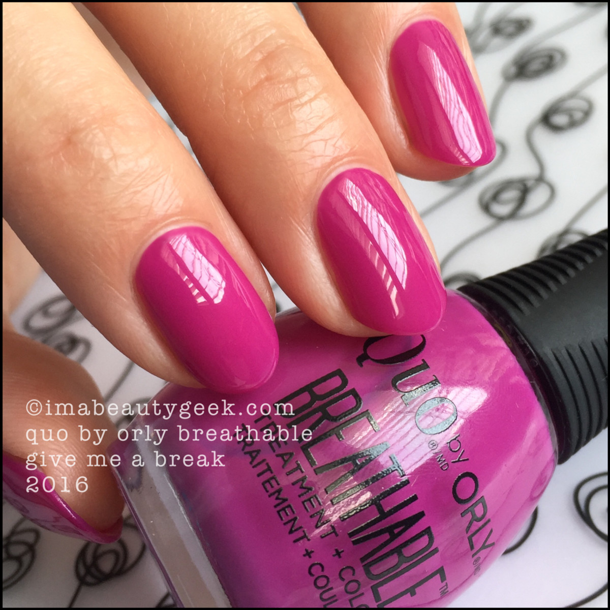 Orly Breathable Nail Polish_Quo by Orly Breathable Give Me a Break