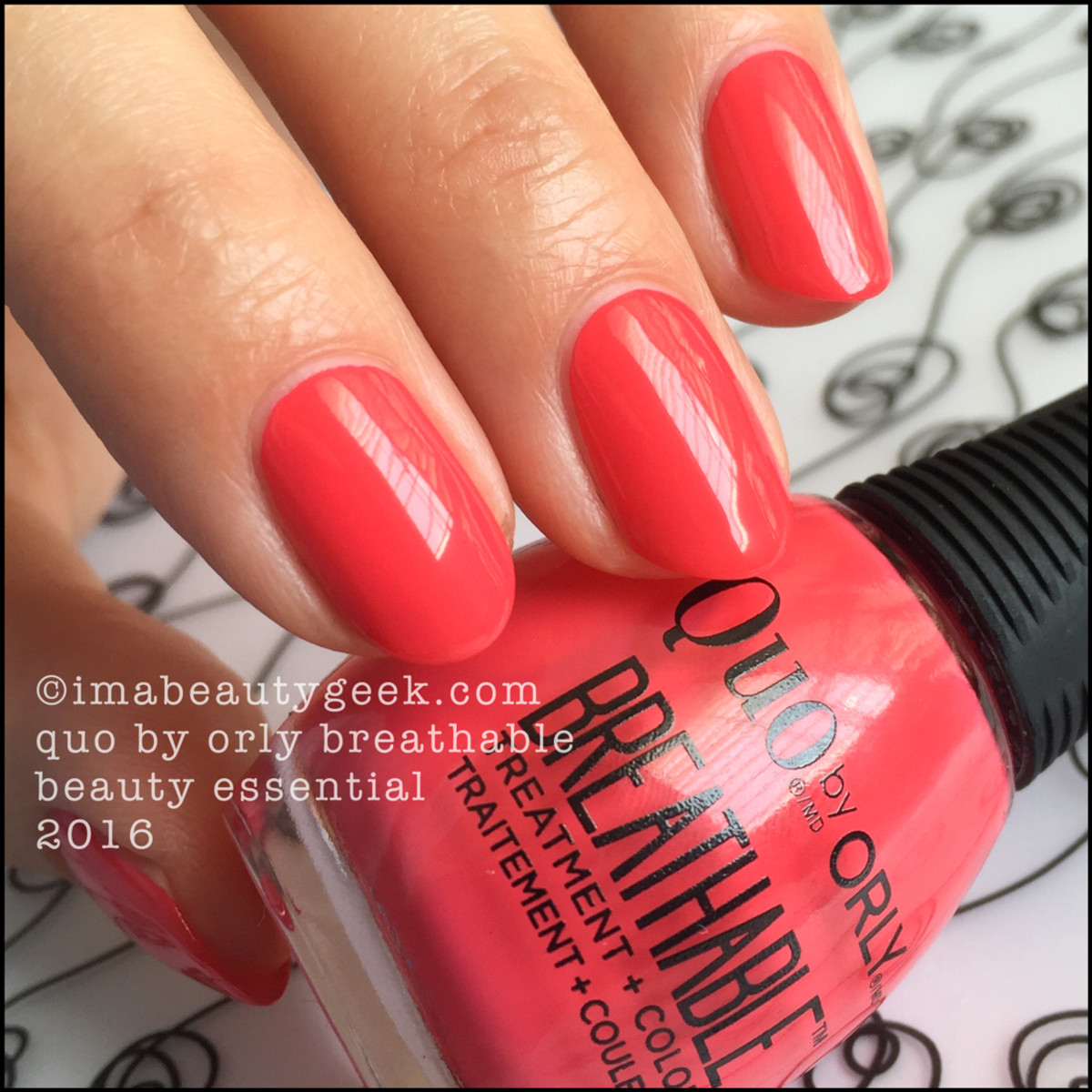 Orly Breathable Nail Polish By Quo Swatches And Review Beautygeeks
