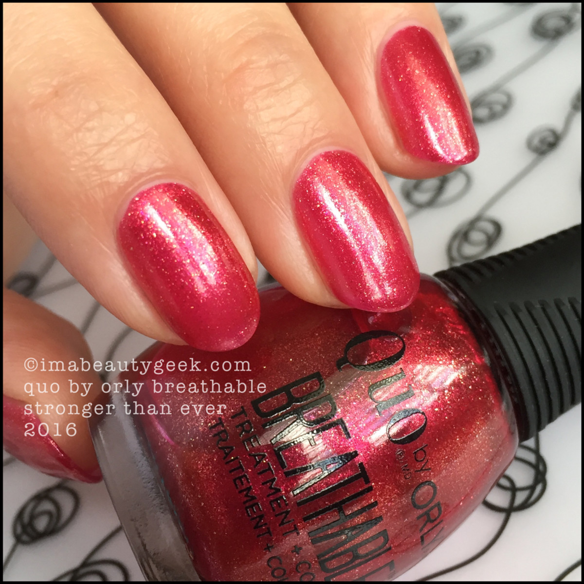 Orly Breathable Nail Polish Treatment_Quo by Orly Breathable Stronger than Ever