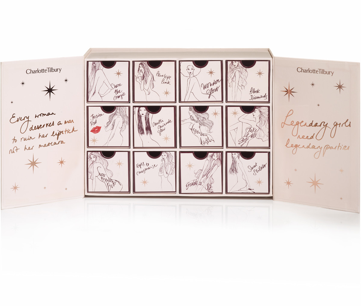 charlotte tilbury advent calendar 2016 12 days