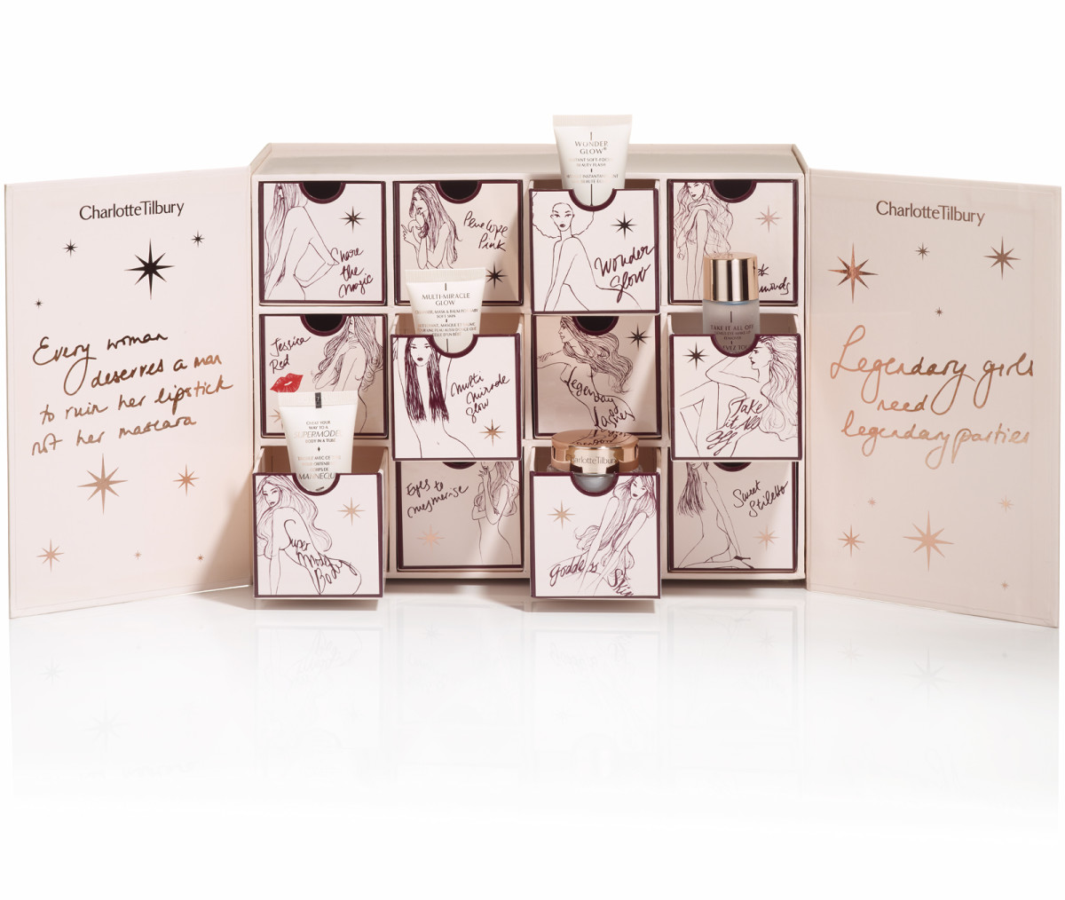 charlotte tilbury advent calendar box 2016