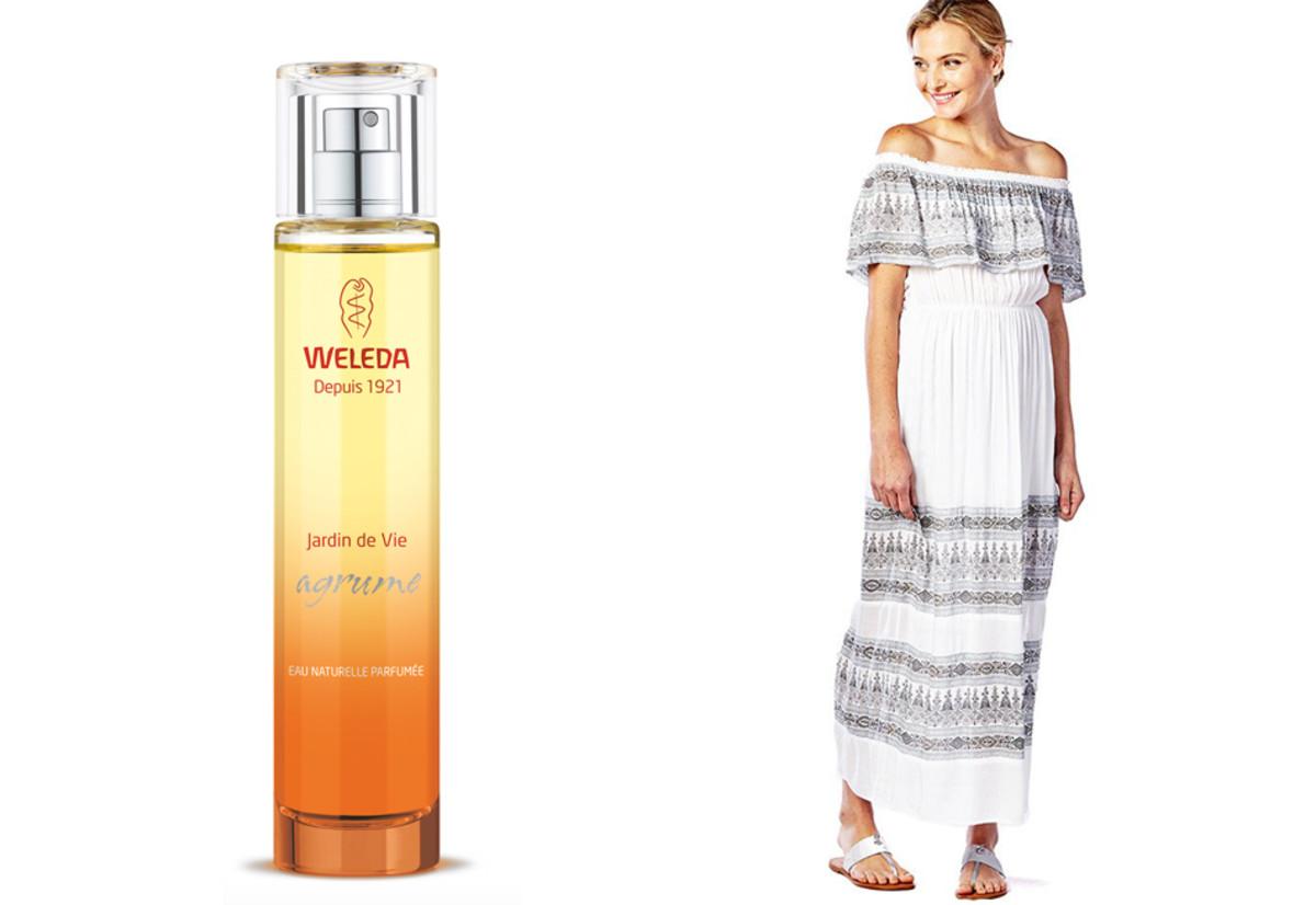 best summer fragrance_Weleda Jardin de Vie Agrume