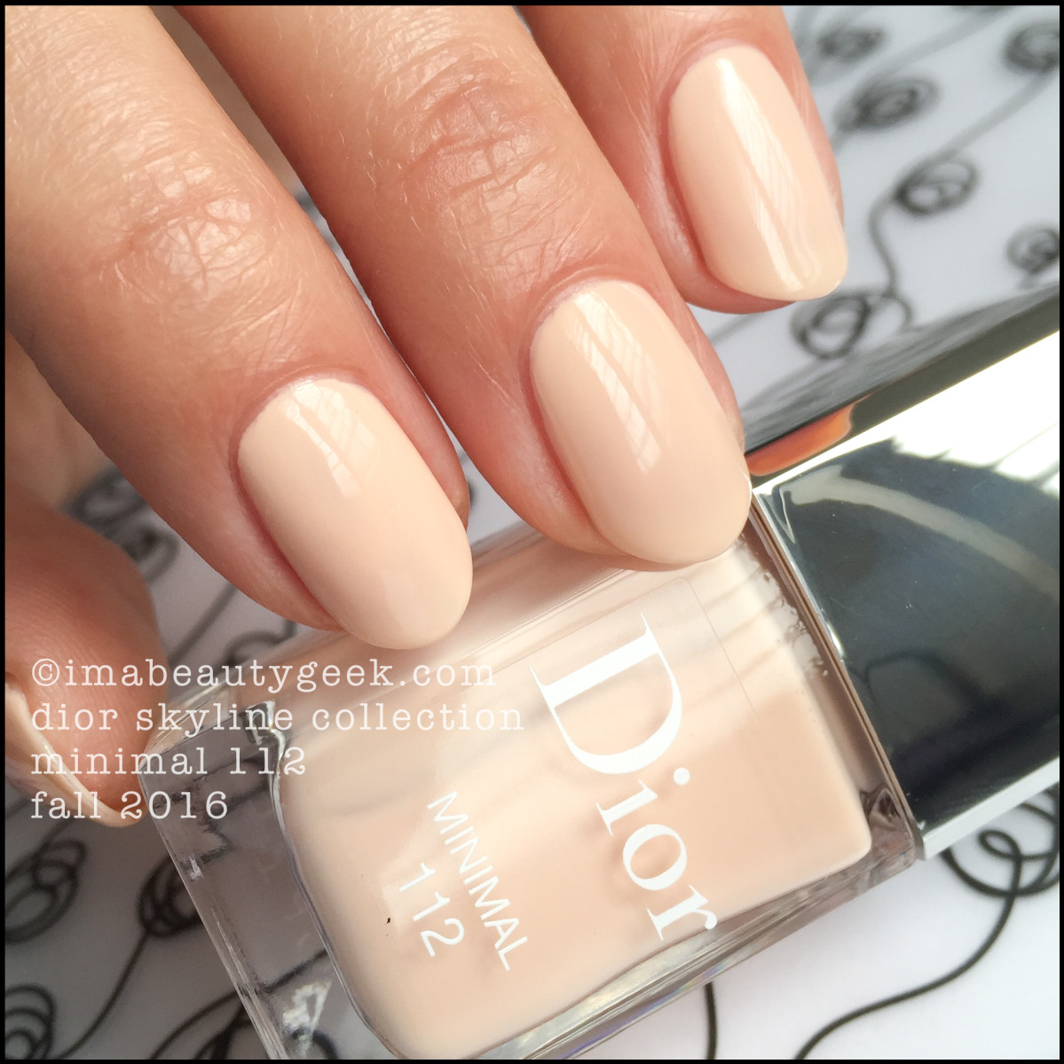 Dior Vernis Minimal 112_Dior Fall 2016 Skyline Collection
