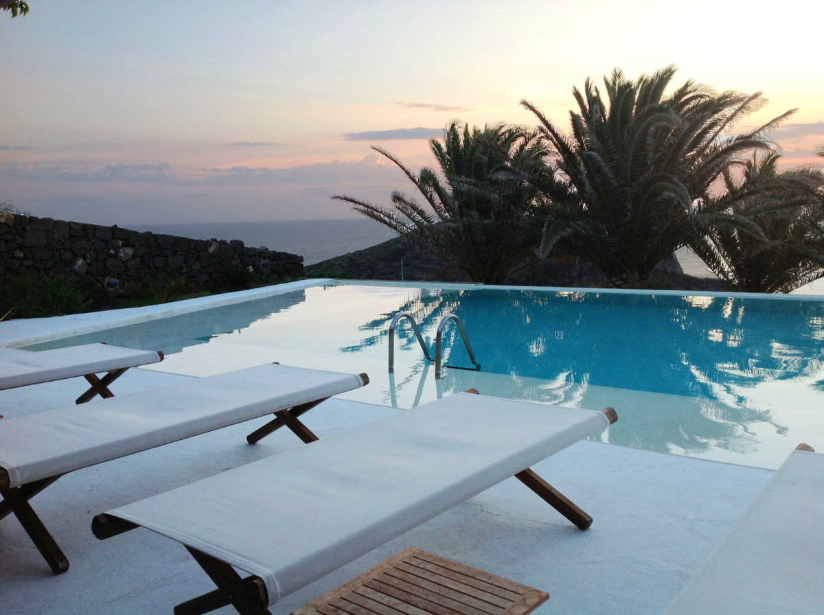 luxury villa on Pantelleria Island