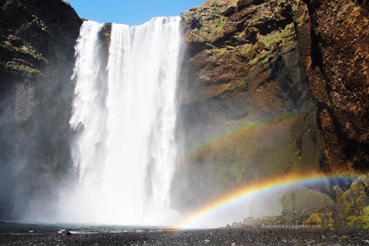 best facial mist_skogarfoss falls, Iceland