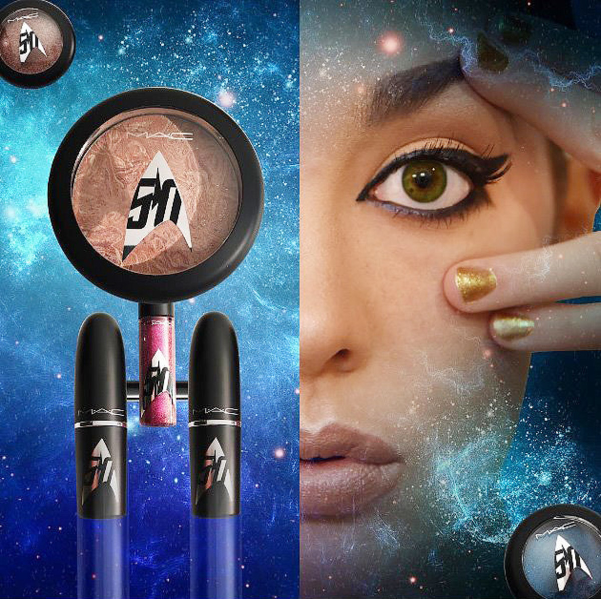 MAC Star Trek makeup collection