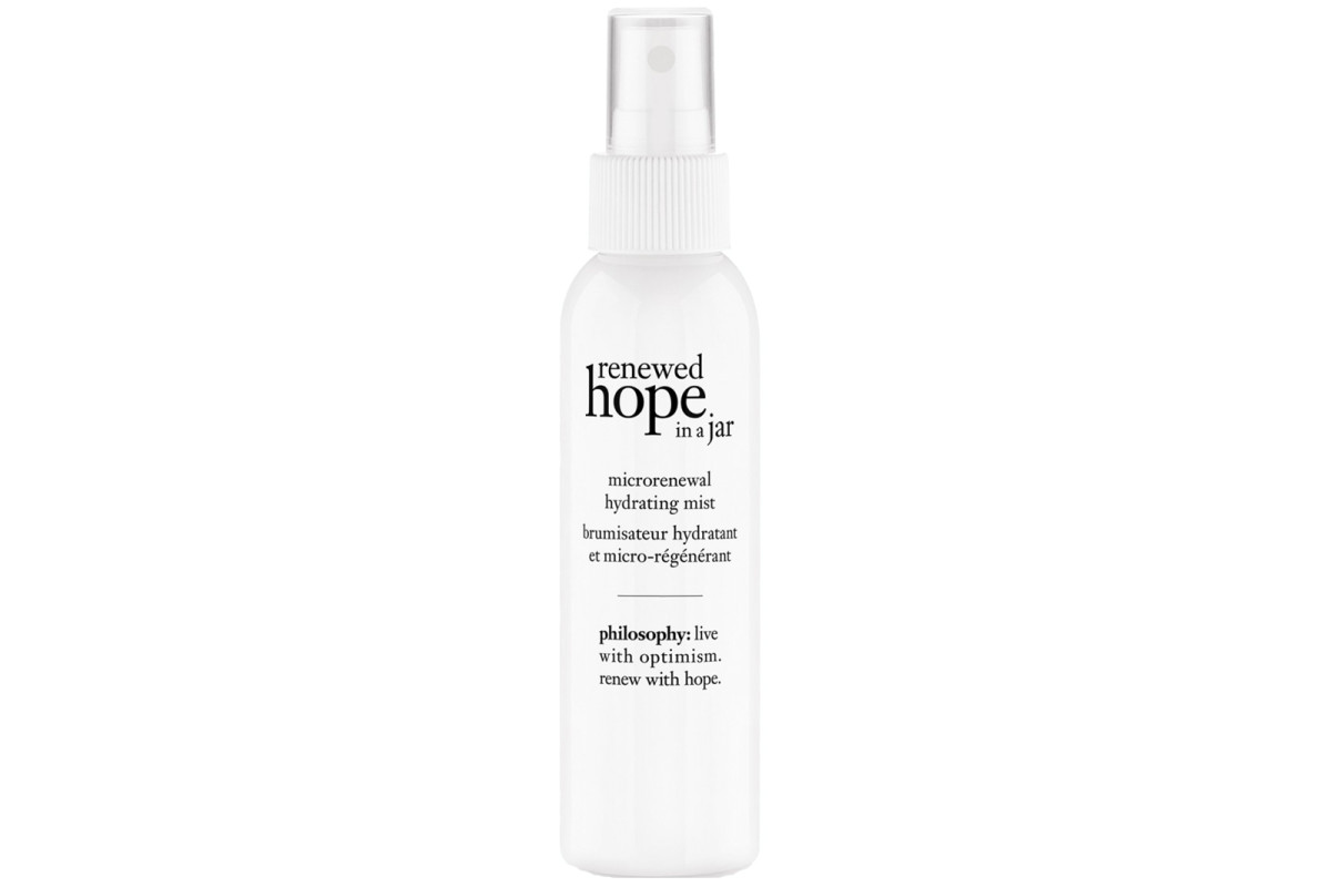 best face mists 2016_Philosophy Renewed Hope in a Jar Microrenewal hydrating mist