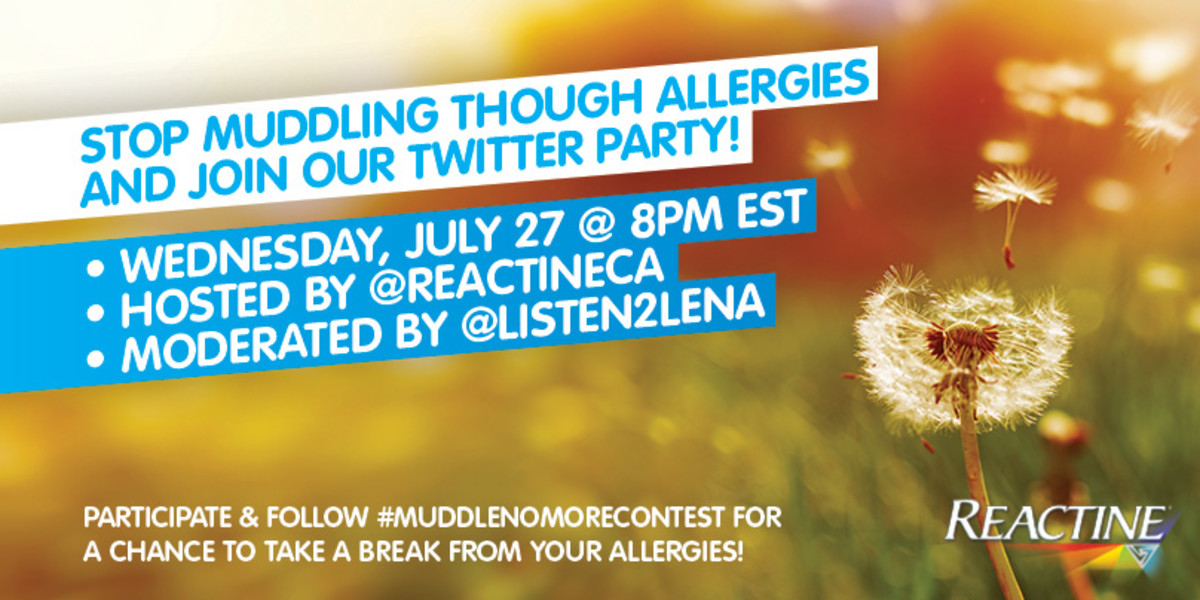 seasonal allergies twitter party