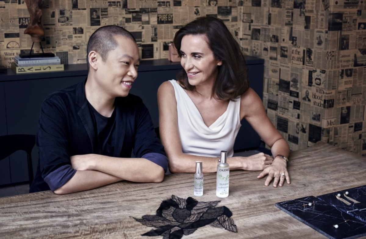 Jason Wu and Caudalie's Mathilde Thomas