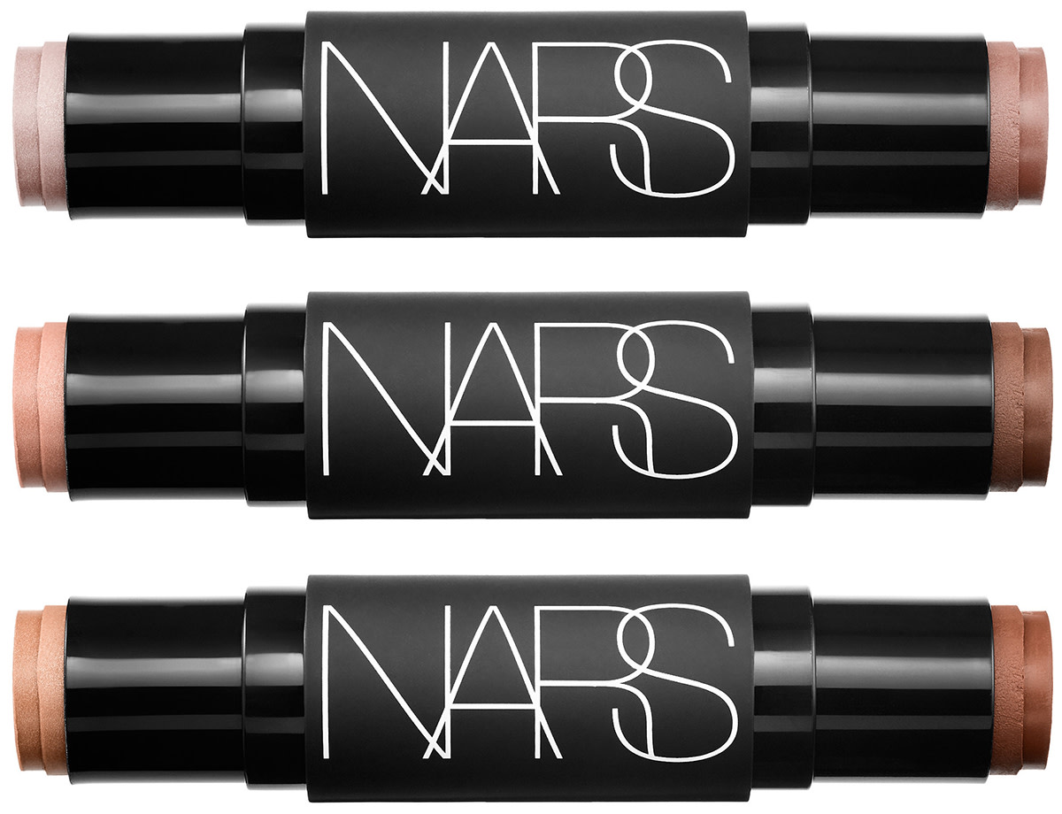Nars Sculpting Multiple Duo collection from top: Copacabana-Sidari Beach; Hot Sand-Laguna; and Flamenco-Oahu