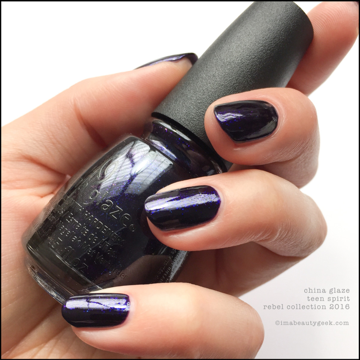 China Glaze Teen Spirit_China Glaze Rebel 2016 Collection Swatches Review