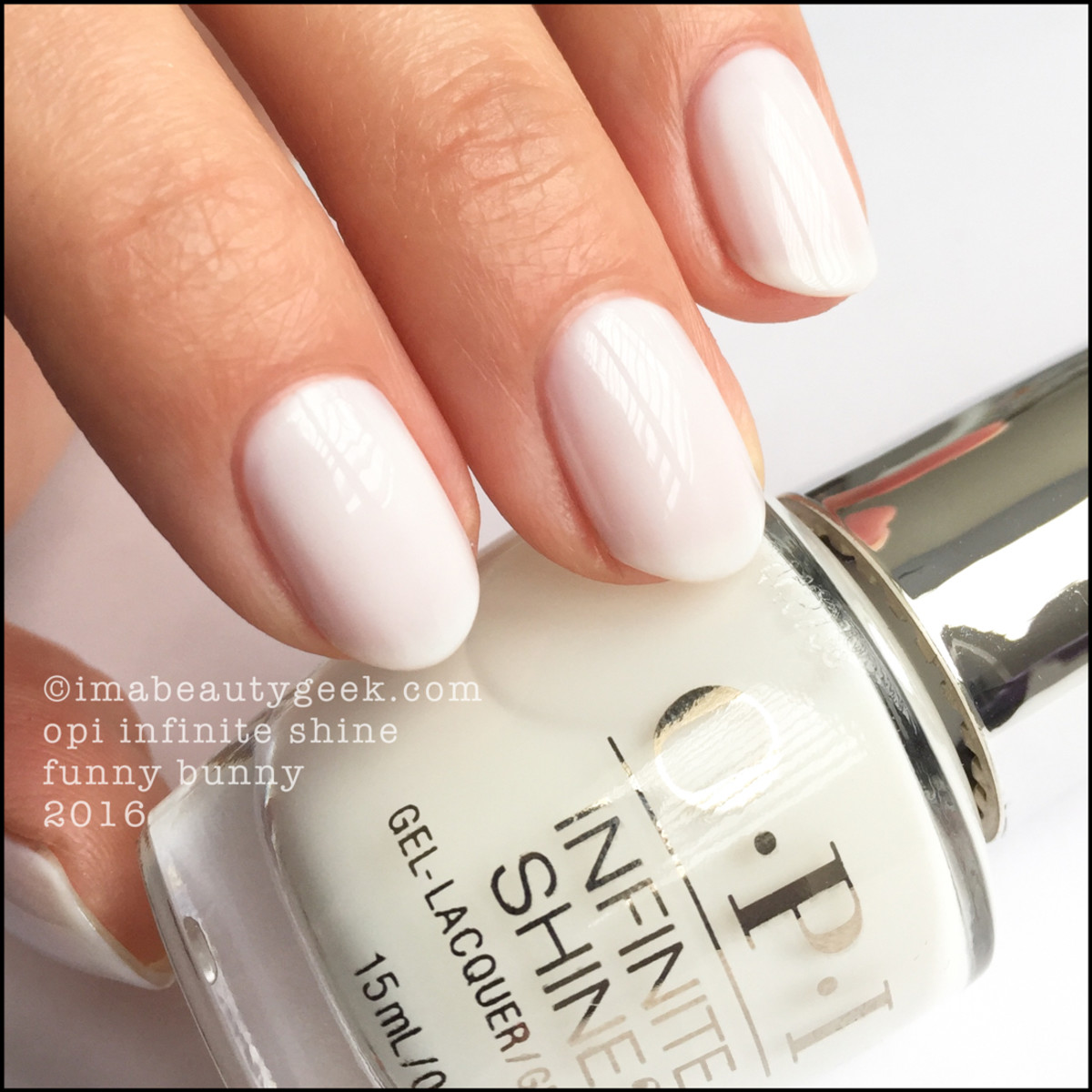 OPI Infinite Shine Funny Bunny_OPI Infinite Shine Iconic Collection 2016
