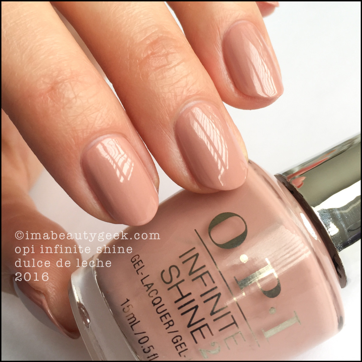 OPI Infinite Shine Dulce De Leche_OPI Infinite Shine Iconic Collection 2016