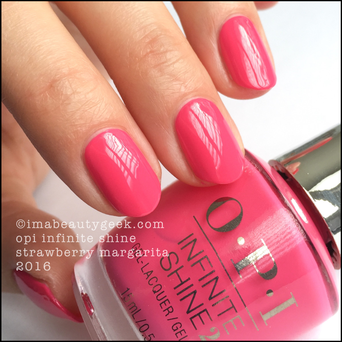 OPI Infinite Shine Strawberry Margarita_OPI Infinite Shine Iconic Collection 2016