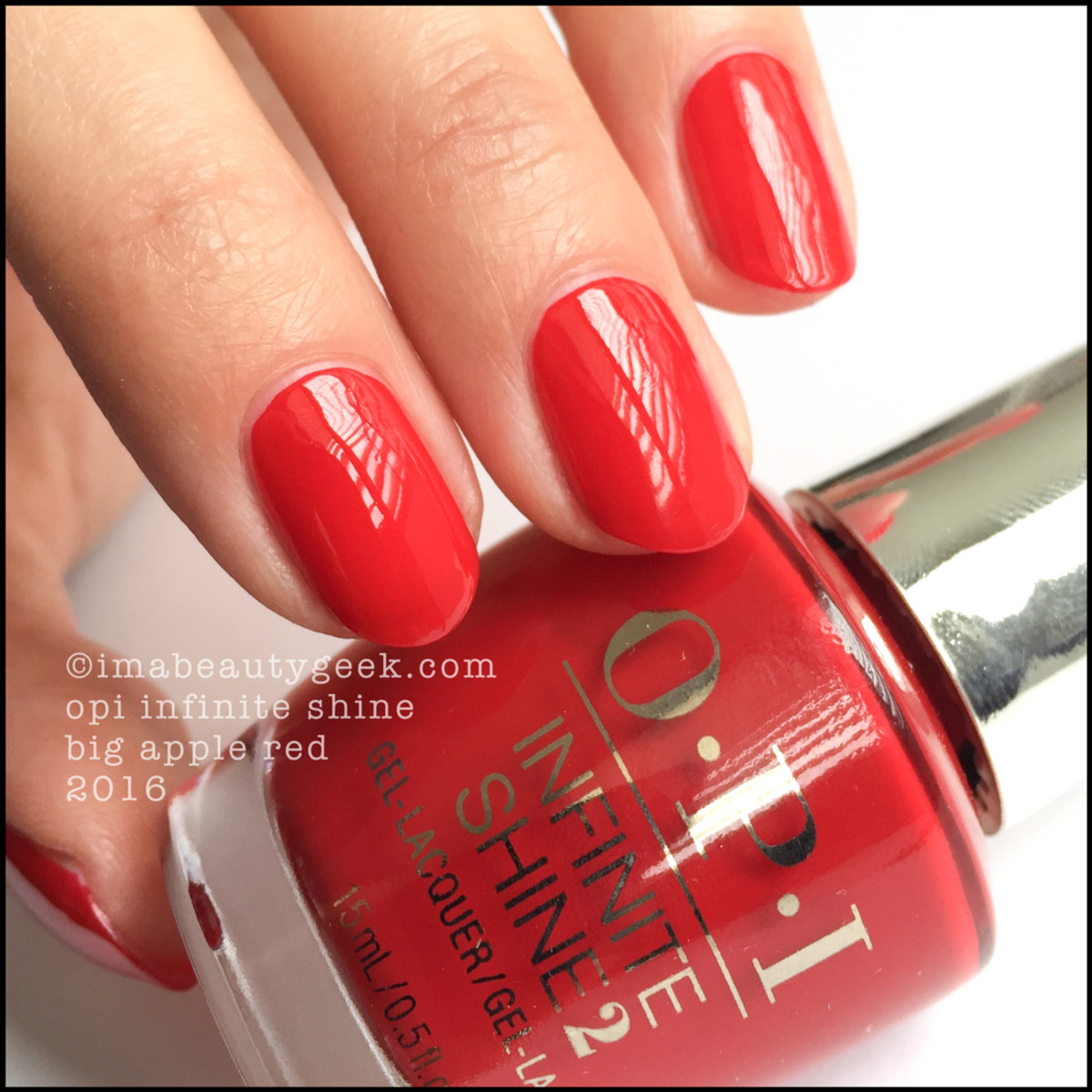 OPI Infinite Shine Big Apple Red_OPI Infinite Shine Iconic Collection 2016