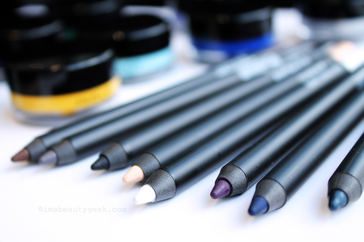 Inglot Kohl Pencils: creamy pencils that set to a waterproof finish.