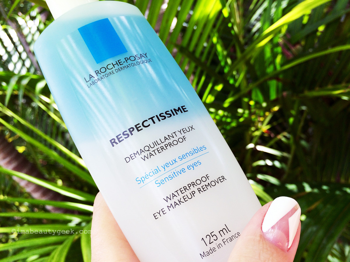 La Roche-Posay Respectissime Waterproof Eye Makeup Remover for Sensitive Skin