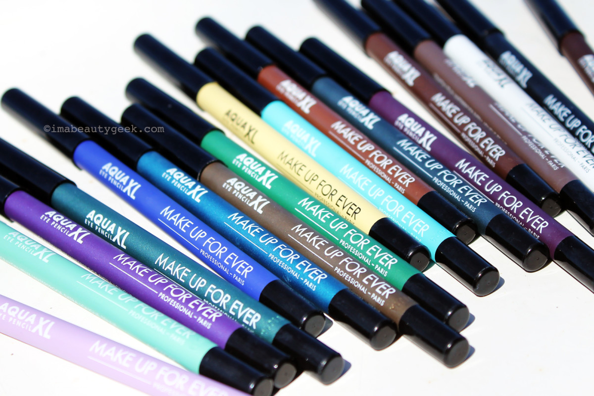 Make Up For Ever Aqua XL waterproof liners