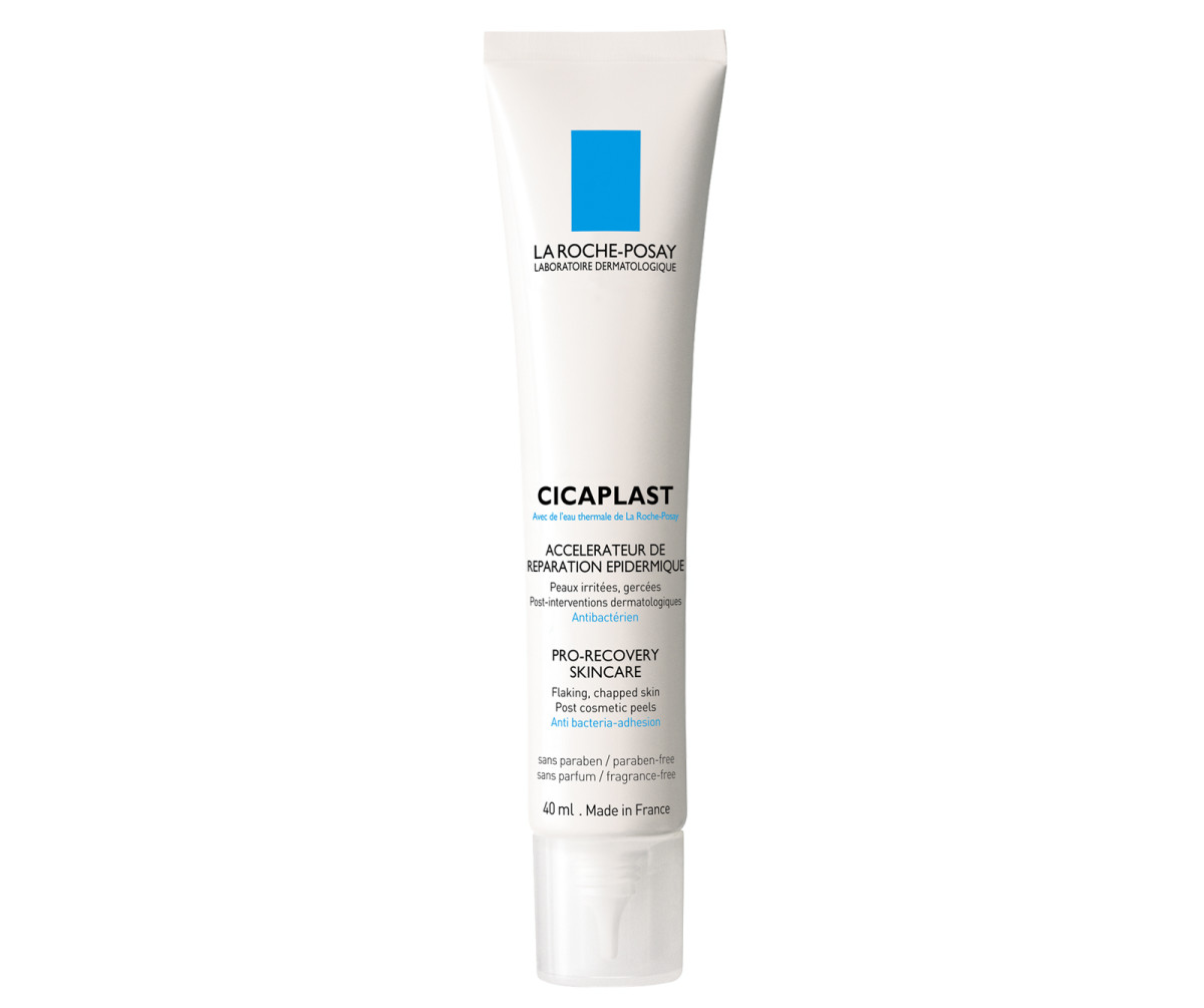 Cicaplast Pro-Recovery Skincare: protects and keeps moisture in post Clear & Brilliant