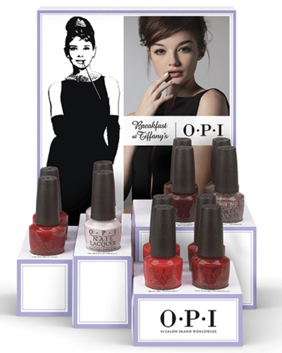 OPI Breakfast at Tiffanys Nail Lacquer Holiday 2016
