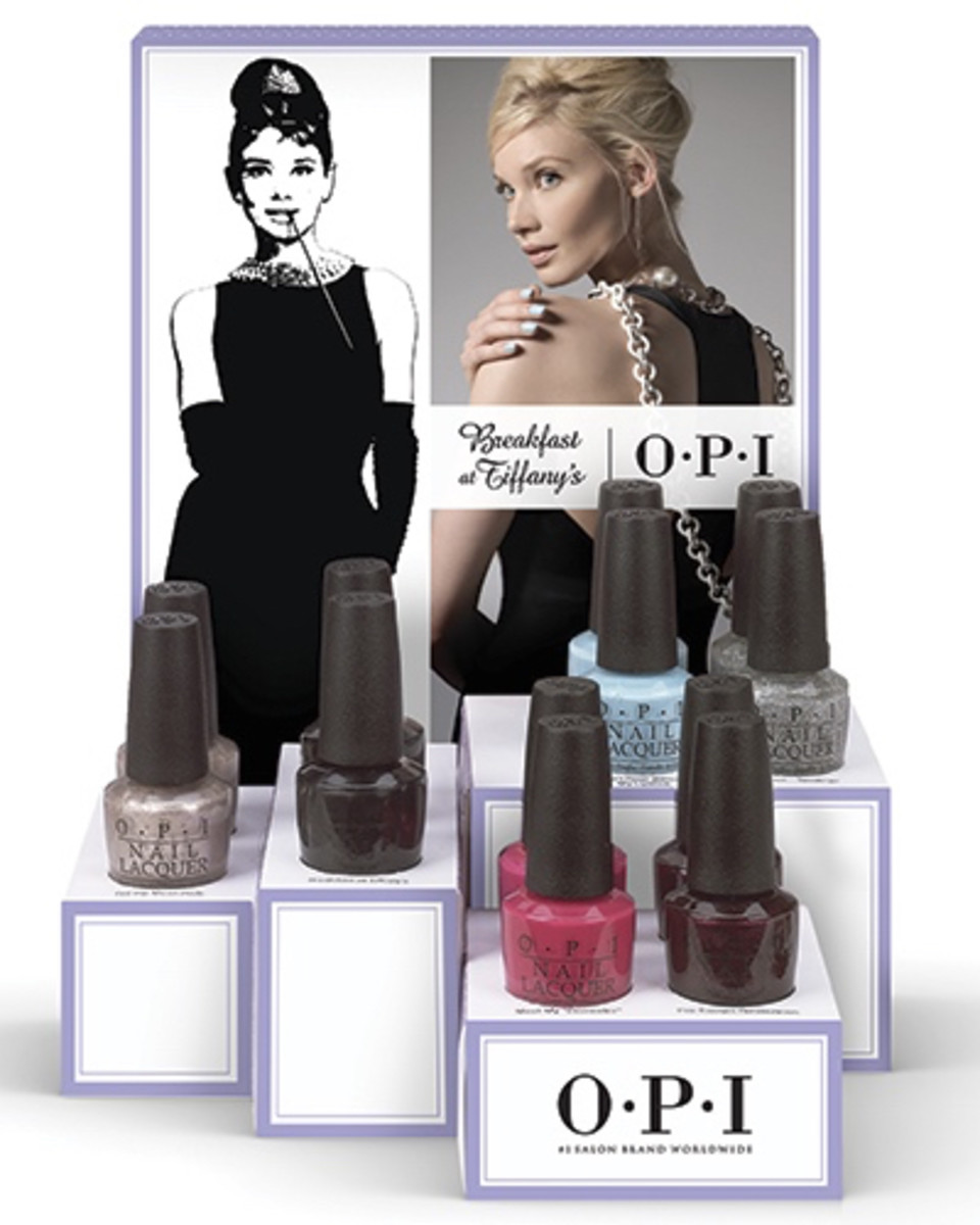 OPI Breakfast at Tiffanys Nail Lacquer 2 Holiday 2016