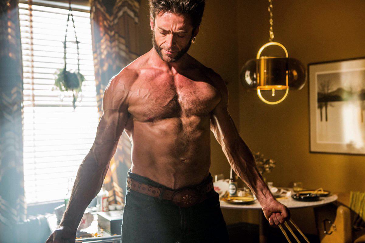 Hugh Jackman Wolverine and sun damage