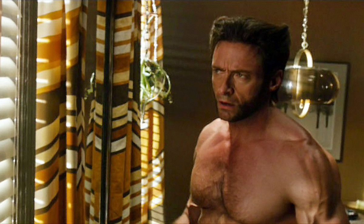 Hugh Jackman as Wolverine and UVA/UVB