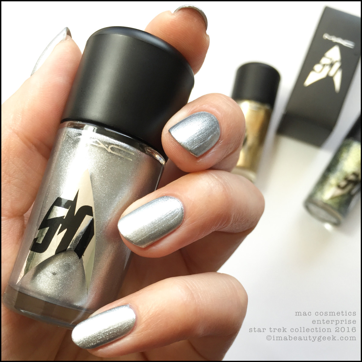 Mac Star Trek Collection Enterprise Nail Polish_MAC Cosmetics Star Trek Enterprise 2016
