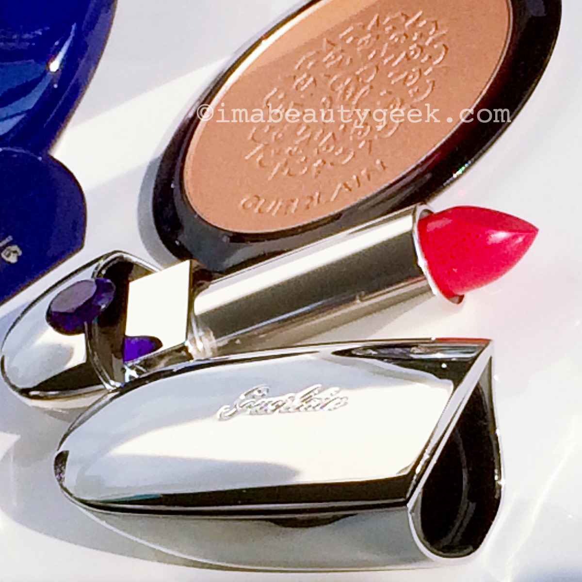 Guerlain holiday 2016 Rouge G 821 Rouge Saphir