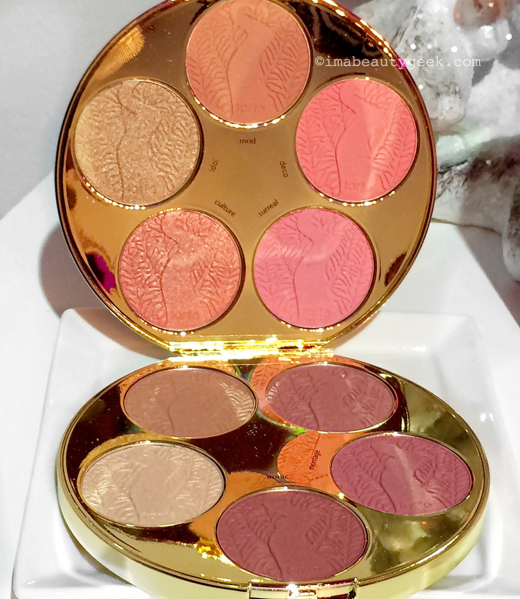 Tarte Color Wheel Amazonian Clay Blush: 10 shades