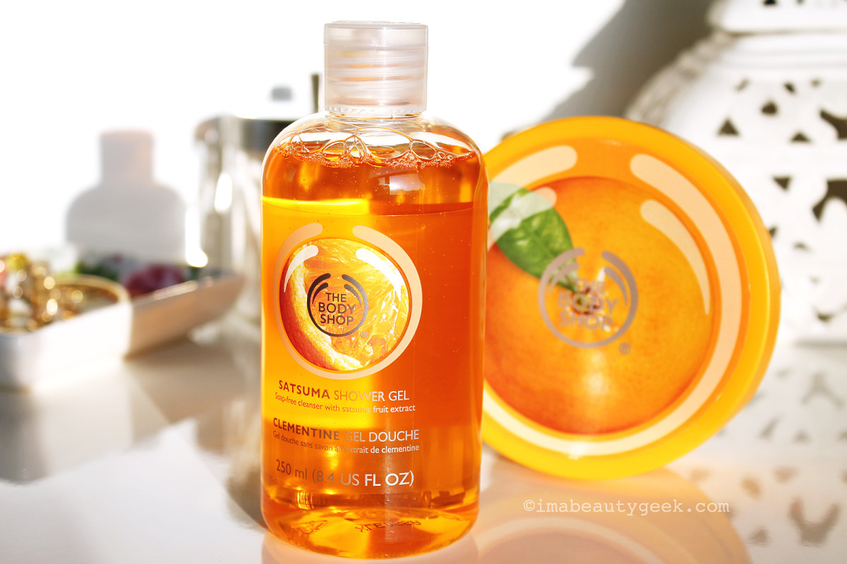 The Body Shop Satsuma Shower Gel and Body Butter