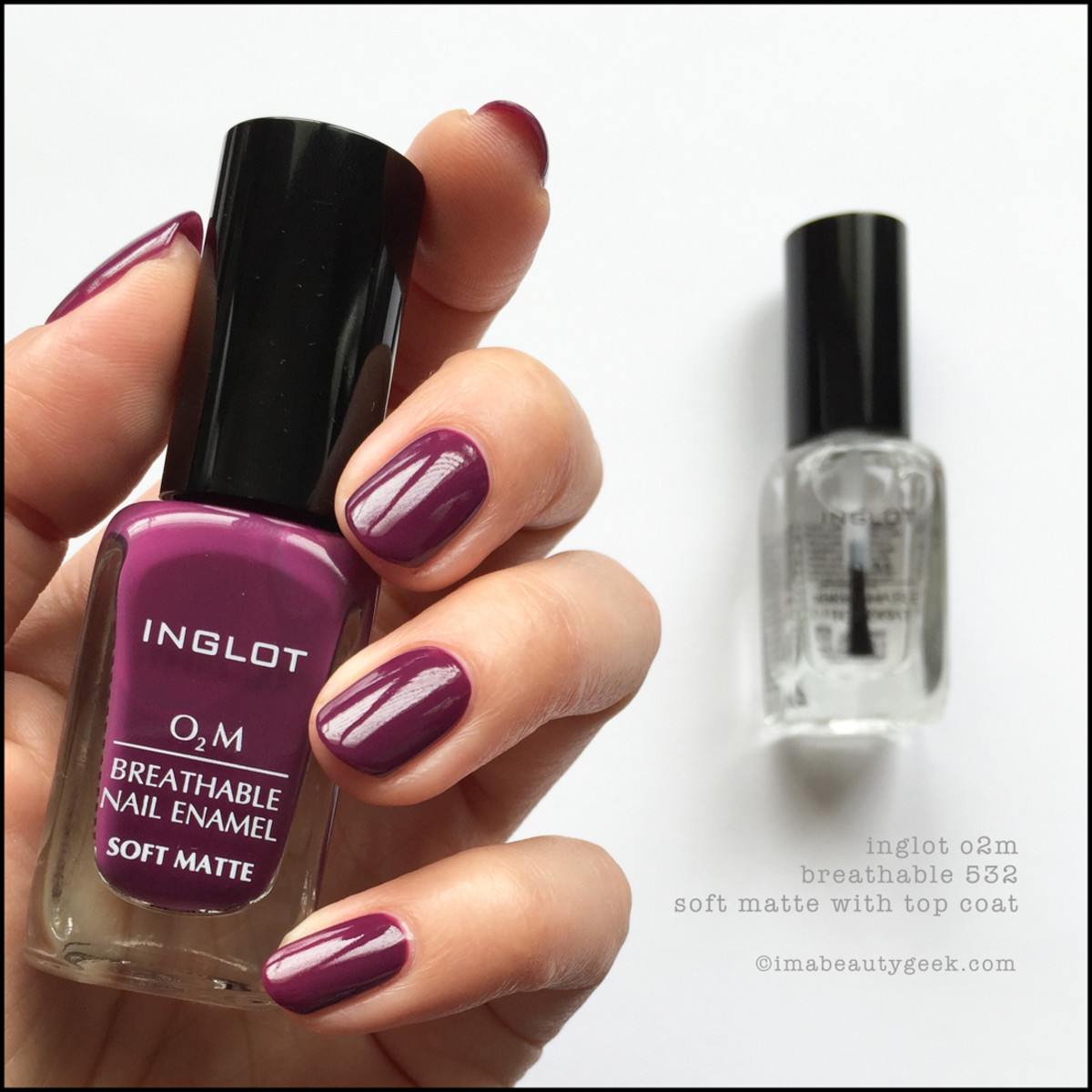 INGLOT O2M BREATHABLE NAIL ENAMEL SWATCHES REVIEW - Beautygeeks