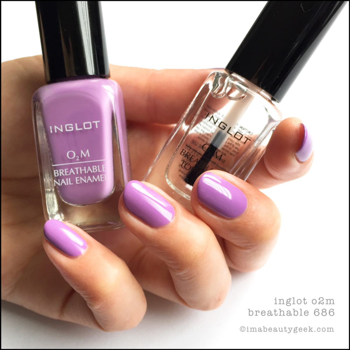 Inglot Nail Polish 686_Inglot Breathable o2m Nail Polish