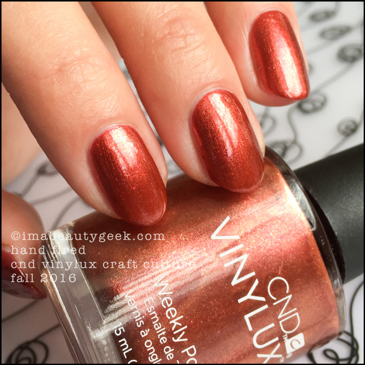 Cnd Vinylux Craft Culture Fall 2016 Swatches Review