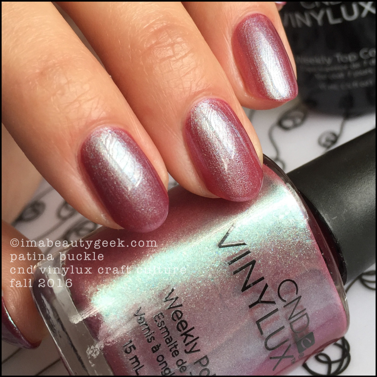 CND Vinylux Patina Buckle_CND Vinylux Craft Culture Collection Fall 2016