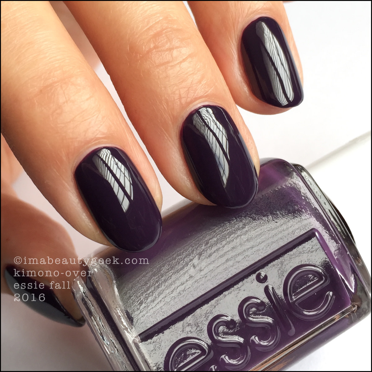 ESSIE FALL 2016 COLLECTION SWATCHES AND REVIEW - Beautygeeks
