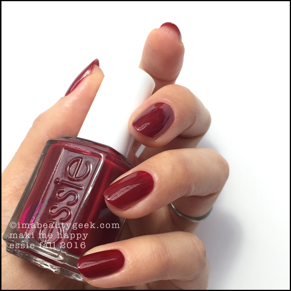 Essie Maki Me Happy_Essie Fall 2016 Swatches Review