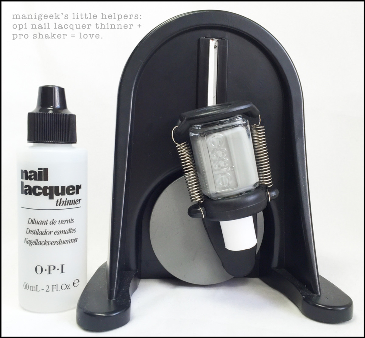OPI Thinner plus ProShaker for Nail Polish
