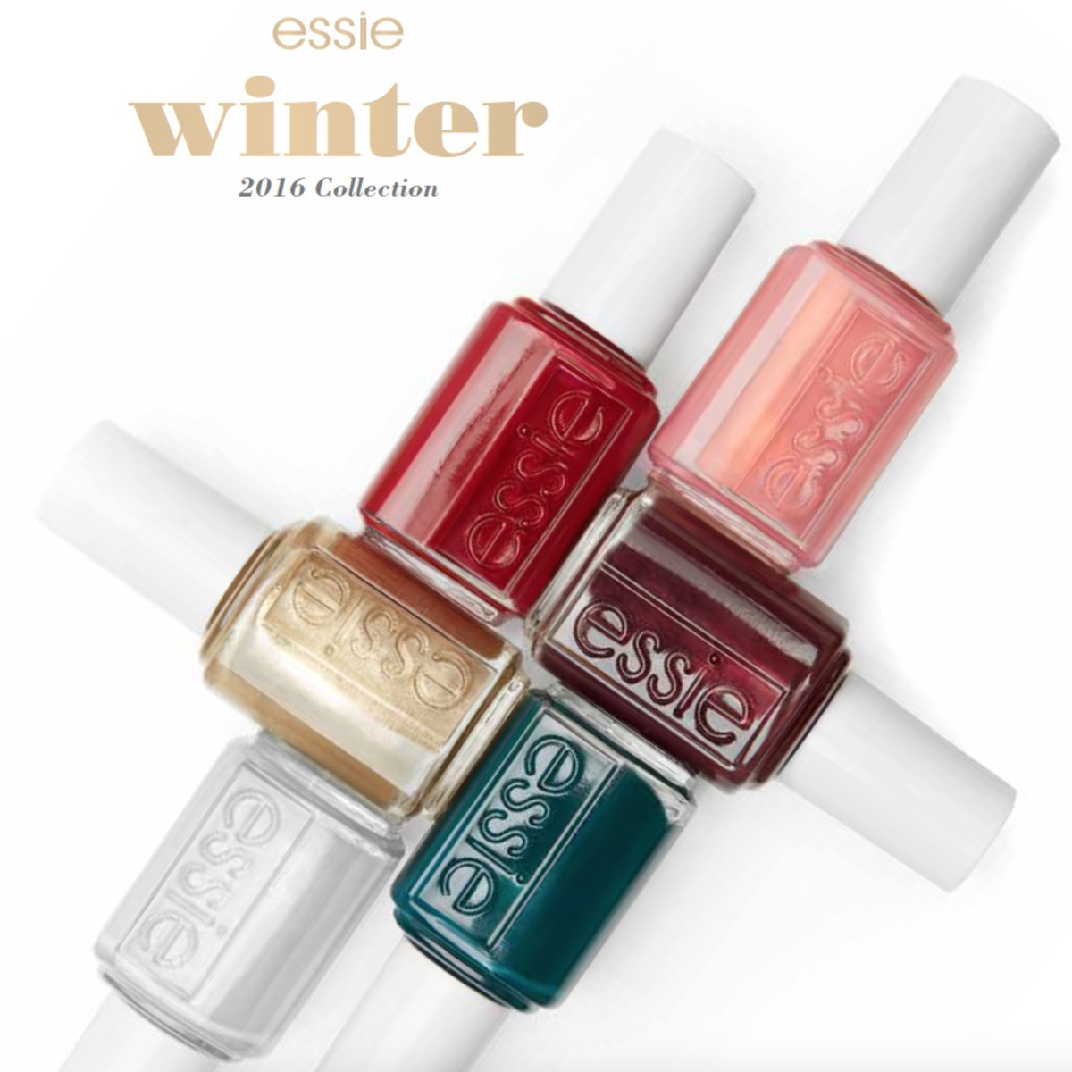 Essie Winter 2016 Getting Groovy Collection Swatches Review