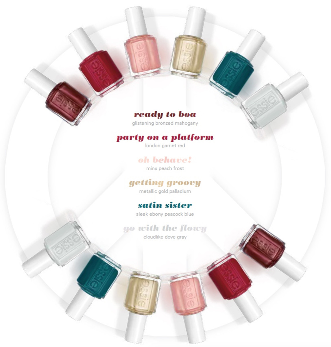 Essie Winter 2016 Getting Groovy Swatches Review