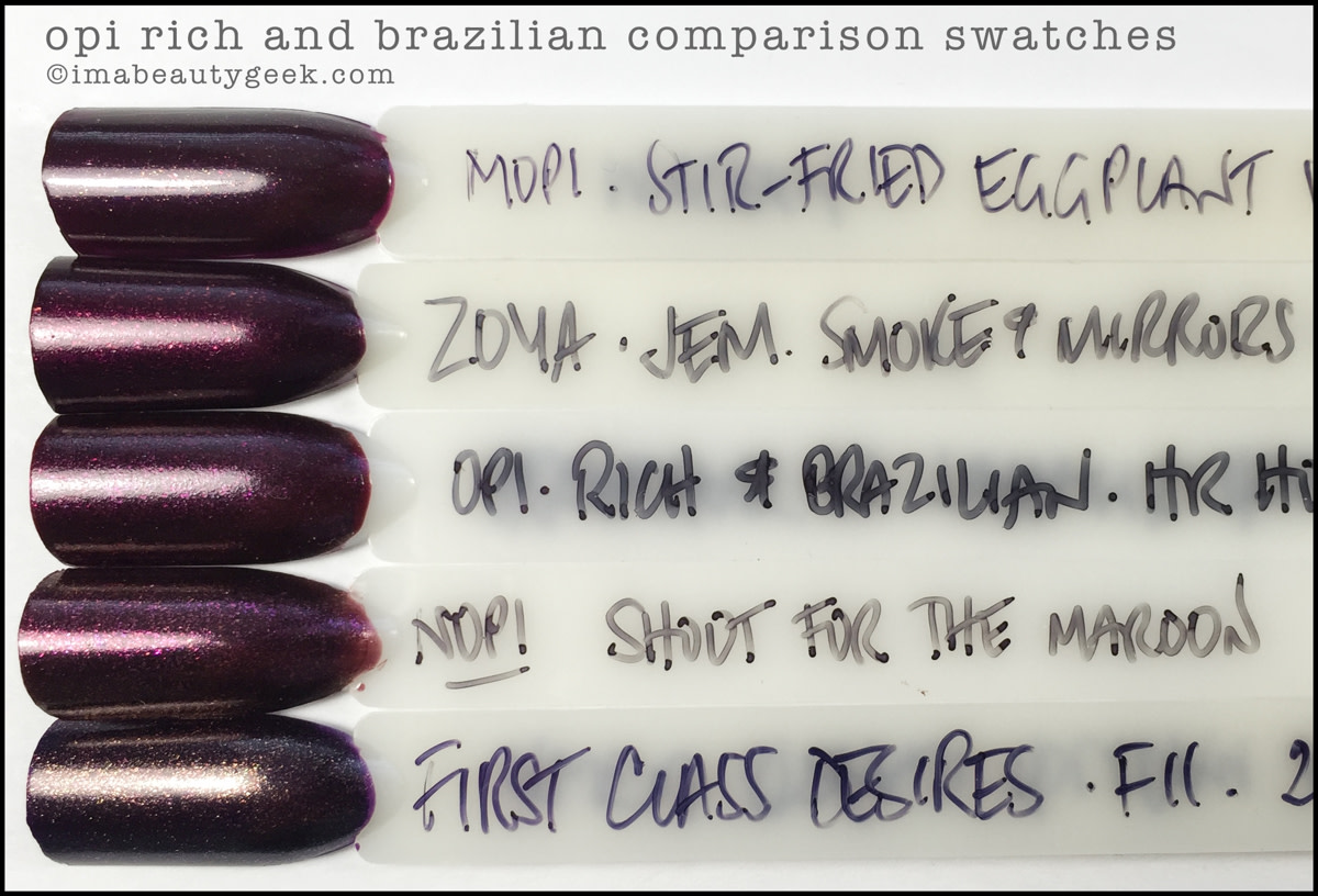 Opi Breakfast At Tiffany S Comparison Swatches Amp Infinite Shine Collection Holiday 2016