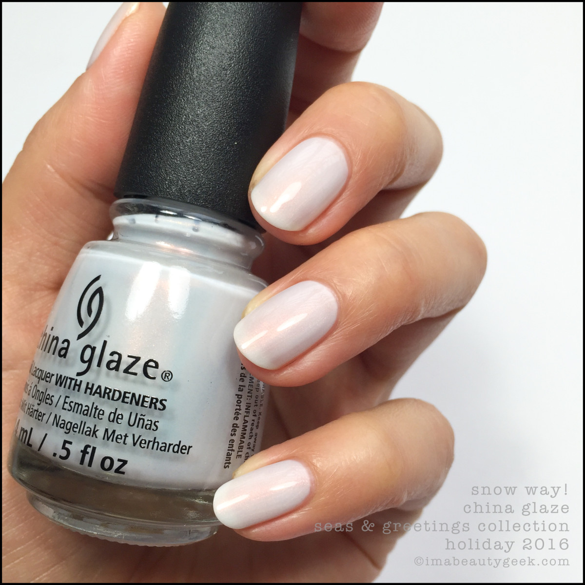 China Glaze Snow Way Holiday 2016_China Glaze Seas and Greetings Collection Swatches Review 2