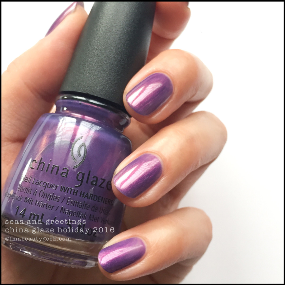 China Glaze Seas and Greetings Holiday 2016