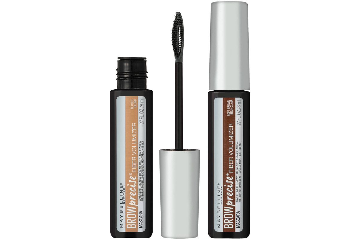 aa8409f597d Maybelline Brow Precise Fiber Volumizer Mascara tinted brow gel in Blonde  and Soft Brown