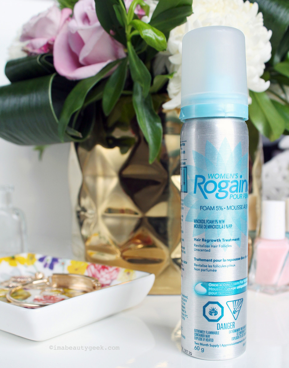 Women's Rogaine 5% Minoxidil Mousse Hair Regrowth Treatment