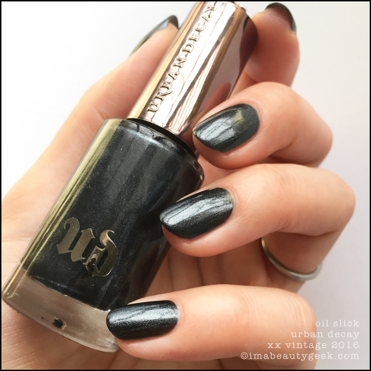 URBAN DECAY XX VINTAGE NAIL POLISH COLLECTION SWATCHES & REVIEW ...