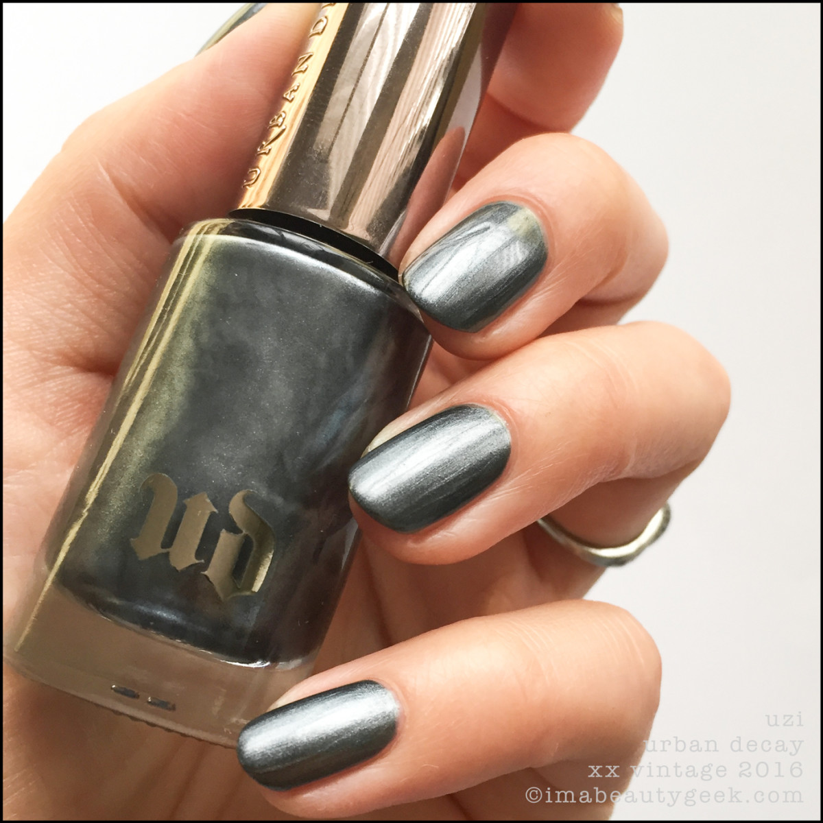 Urban Decay Uzi Nail Polish Vintage Pollish Swatches 2016