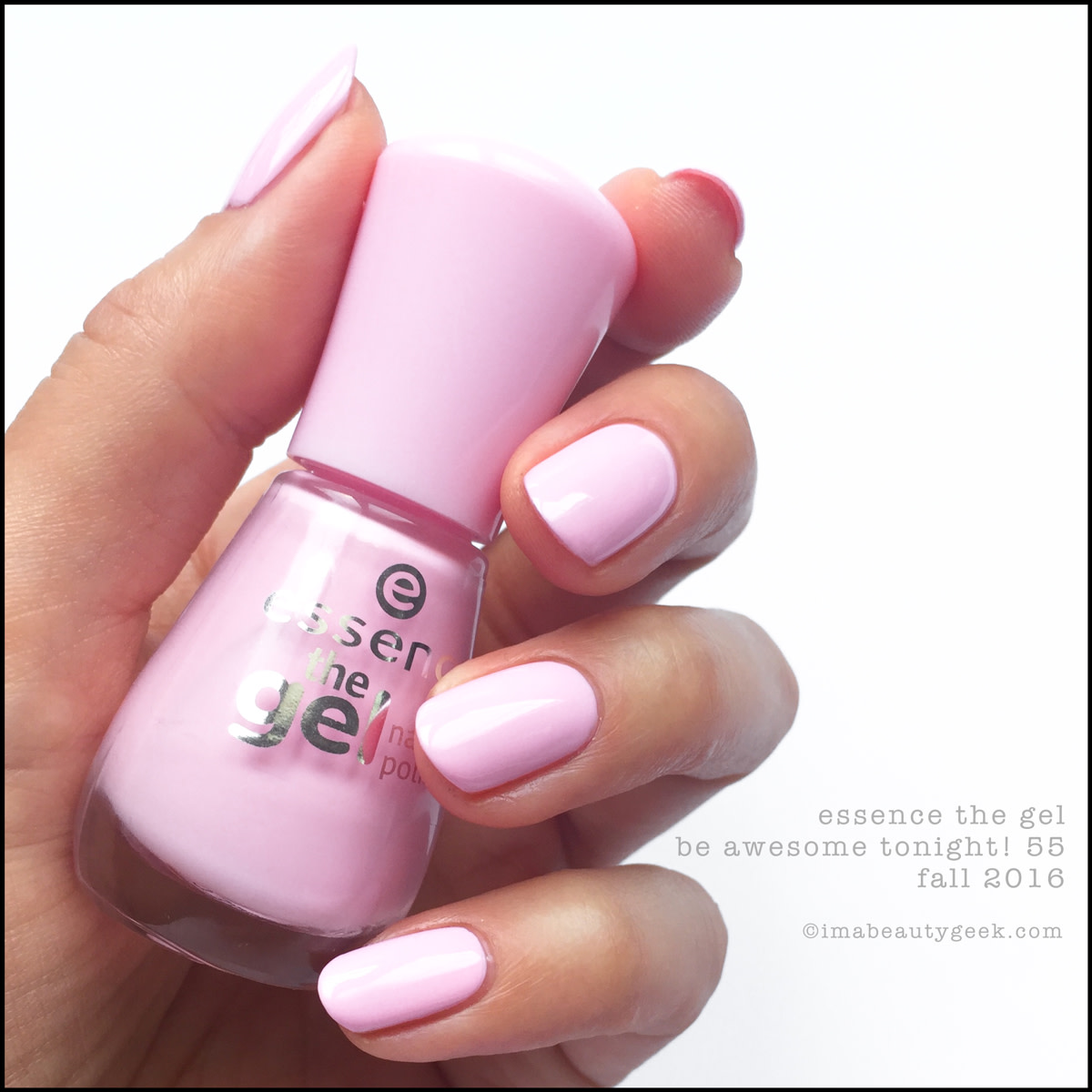 Essence Nail Polish Be Awesome Tonight The Gel 2016