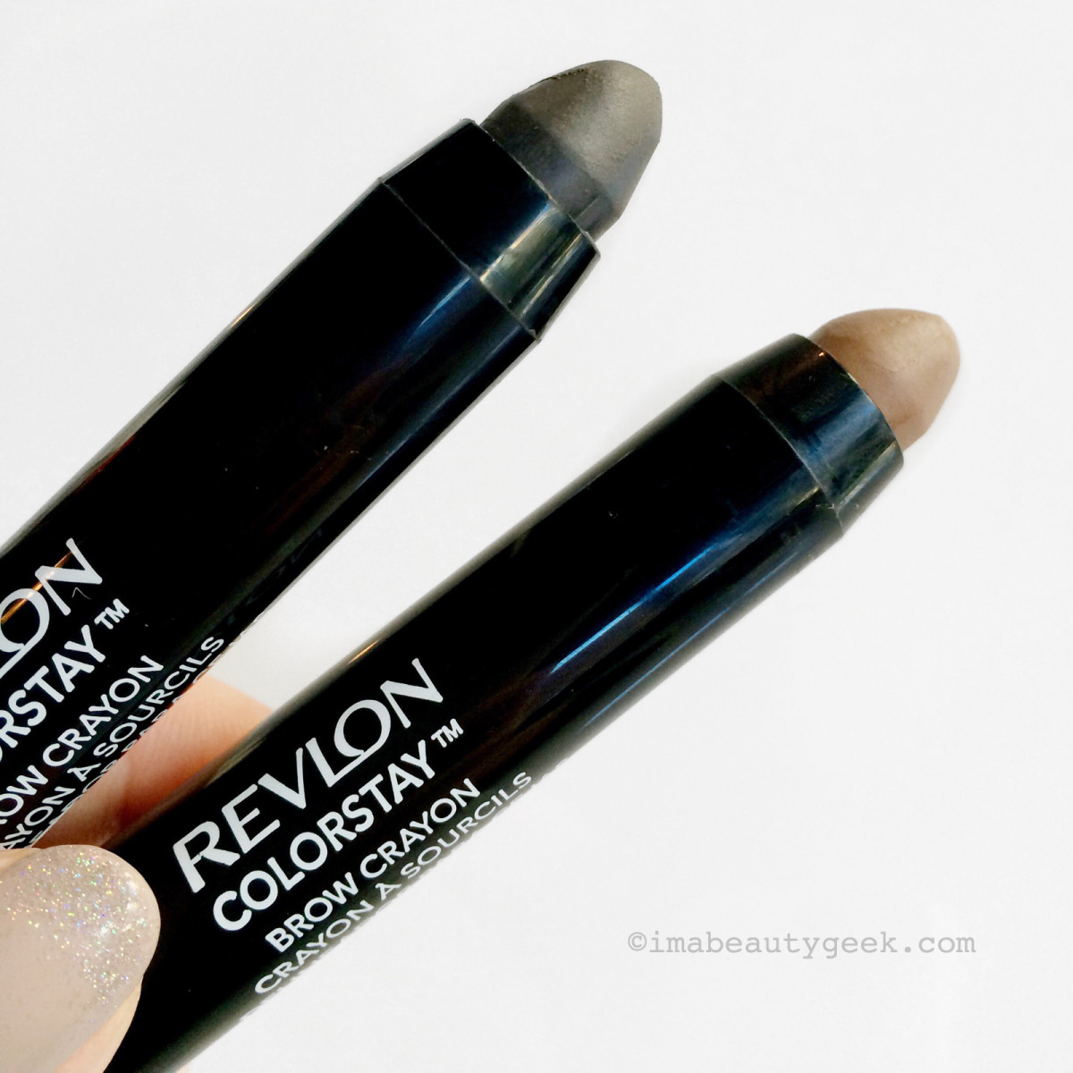Revlon ColorStay Brow Crayon in Granite and Blonde