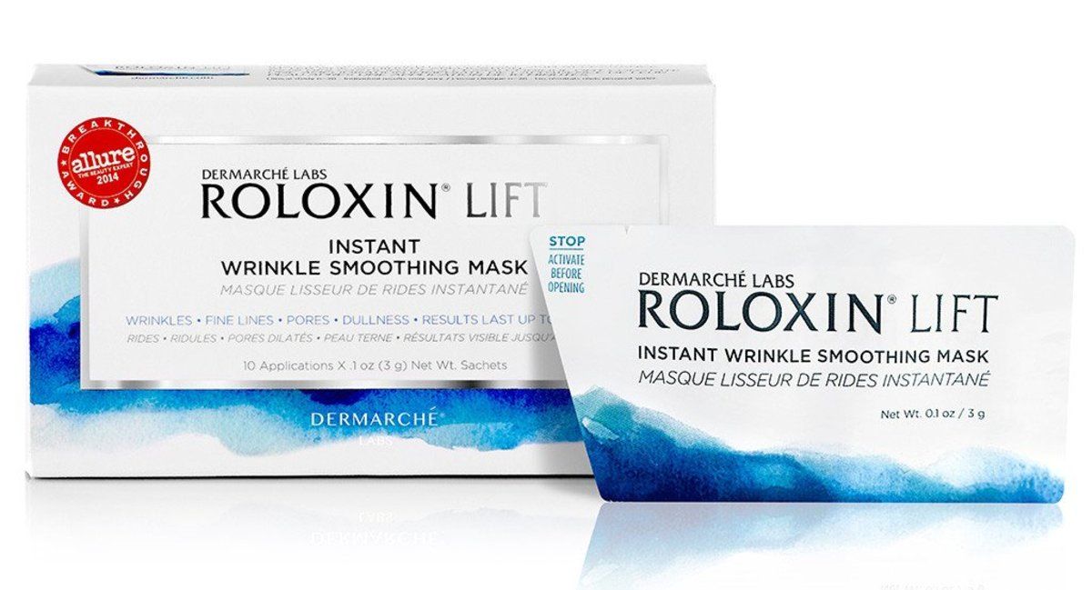 Demarche Labs Roloxin Lift Instant Wrinkle Smoothing Masks